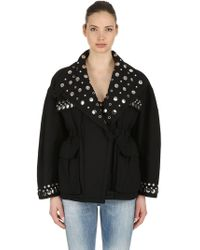 Isabel Marant - Emmetis Studded Cotton Jacket - Lyst