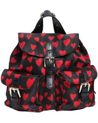 RED Valentino - Hearts Print Nylon Mini Backpack - Lyst