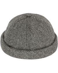 Beton Cire - Handmade Wool Herringbone Sailor Hat - Lyst