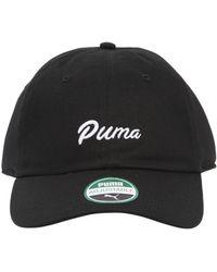 Puma Select - Logo Baseball Hat - Lyst