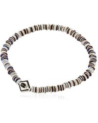 Luis Morais | White Gold Scarab Bracelet | Lyst