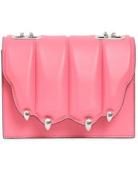 Marco De Vincenzo - Small Griffe Leather Shoulder Bag - Lyst