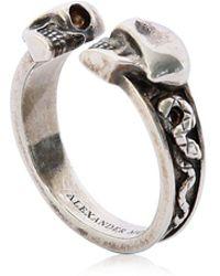 Alexander McQueen | Skulls & Snakes Ring | Lyst