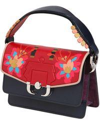 Paula Cademartori - Twitwi Intarsia Leather Shoulder Bag - Lyst