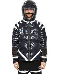 Undercover - Hooded Nylon Down Jacket W/ Led Light - Lyst