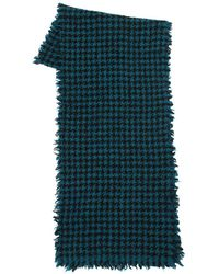 Faliero Sarti - Two Tone Wool Blend Scarf - Lyst