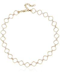 MARGOVA JEWELLERY | Franz Gold Chain Neckline | Lyst
