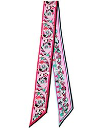 Emilio Pucci - Printed Silk Twill Scarf - Lyst