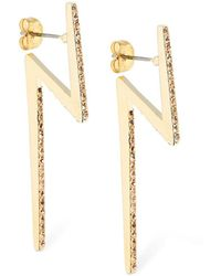 FEDERICA TOSI - Big Flash Earrings - Lyst