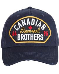 cee87c1ef36986 DSquared² 'canadian Bear' Baseball Cap in Red for Men - Lyst