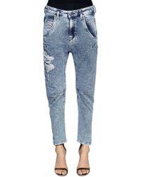 DIESEL - Jeans Relaxed Boyfriend In Denim - Lyst