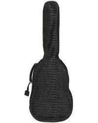 Saint Laurent - Funda Para Guitarra De Malla De Terciopelo - Lyst