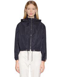 Moncler - Zirconite Hooded Nylon Jacket - Lyst