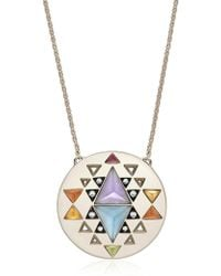 Noor Fares - Large Indri Gold Necklace - Lyst