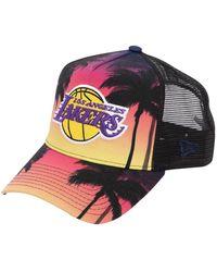 KTZ - Los Angeles Coastal Heat Trucker Hat - Lyst