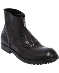 Preventi | Zipped Leather Boots | Lyst