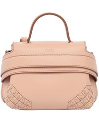 Tod's | Micro Wave Leather Shoulder Bag | Lyst