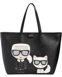 Karl Lagerfeld - 'k/ikonik' Tote - Lyst