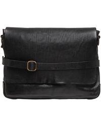 Campomaggi - Vintage Effect Leather Messenger Bag - Lyst