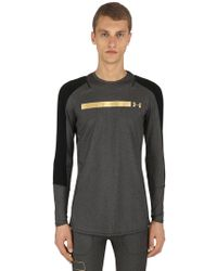Under Armour - Perpetual Printed Long Sleeve T-shirt - Lyst