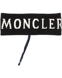 Moncler Logo Wool Knit Headband