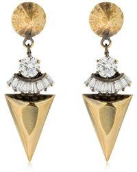Iosselliani - Spike Pendant Earrings - Lyst