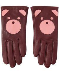 Aristide - Teddy Nappa Leather Gloves - Lyst