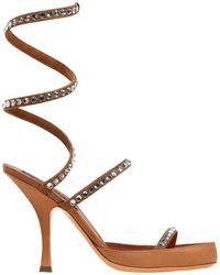 Y. Project - 100mm Spirale Embellished Leather Sandal - Lyst