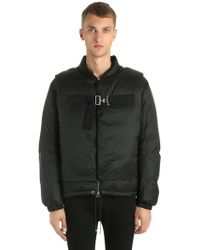 OAMC - Down Jacket W/ Detachable Front Overlays - Lyst