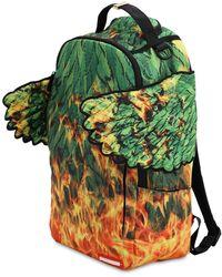Sprayground - Leaf Wing Printed Backpack - Lyst