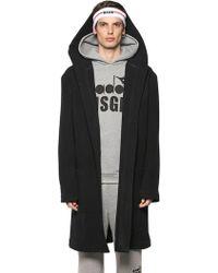 MSGM | Wool Bathrobe Coat | Lyst