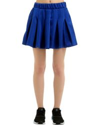 adidas Originals - Fashion League Pleated Satin Skirt - Lyst