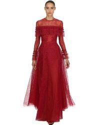 Zuhair Murad - Lace Long Gown - Lyst