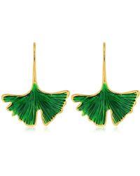 Aurelie Bidermann - Tangerine Earrings - Lyst