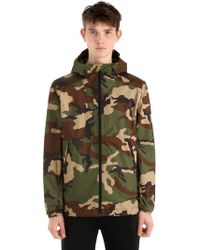 The North Face - Millerton Hooded Camouflage Jacket - Lyst