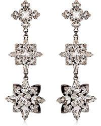 Ellen Conde - Brilliant Jewellery Crystal Earrings - Lyst