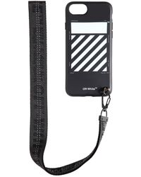 Off-White c/o Virgil Abloh - Diag Iphone X Cover W/ Strap - Lyst
