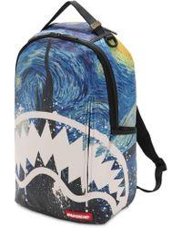 Sprayground - Van Gogh Shark Backpack - Lyst
