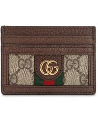 Gucci - Ophidia Gg Supreme Card Holder - Lyst