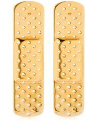 Schield - Plaster Line Earrings - Lyst