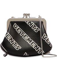 Vetements - Borsa Mini Stampa Logo - Lyst