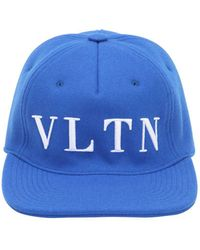 Valentino - Wool Baseball Hat - Lyst