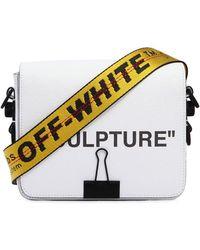 """Off-White c/o Virgil Abloh - """"""""""""sculpture"""""""" Printed Leather Shoulder Bag"""" - Lyst"""