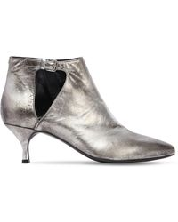 Strategia | 50mm Metallic Leather Ankle Boots | Lyst