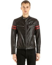 Belstaff - Thurlstone Tiger Biker Leather Jacket - Lyst