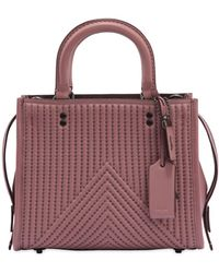 COACH   Rogue Studs Quilted Nappa Leather Bag   Lyst