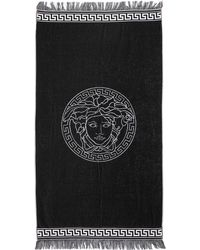Versace - Reversible French Terry Beach Towel - Lyst