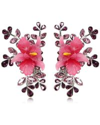 DSquared² - Secret Garden Clip-on Earrings - Lyst