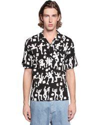 Carhartt - World Party Printed Viscose Shirt - Lyst