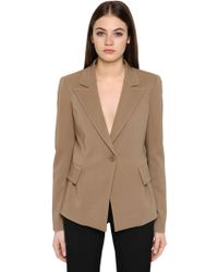 Emporio Armani - Stretch Viscose Jacket - Lyst